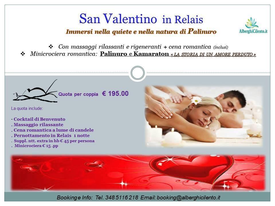 San Valentino in Relais Palinuro Cilento