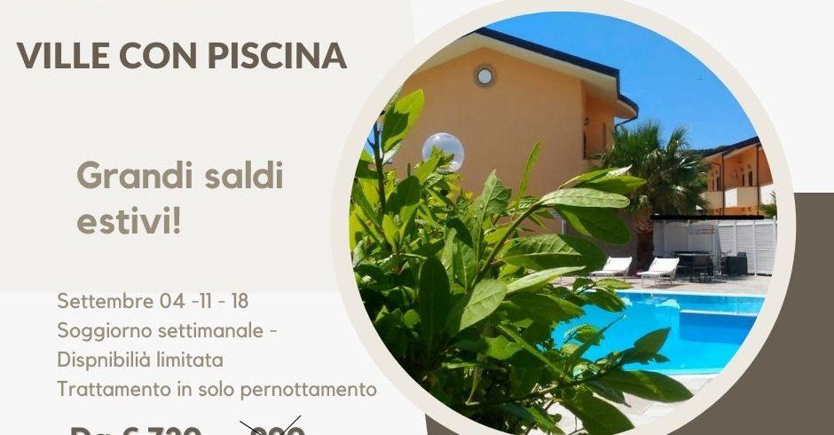 In Cilento ville con piscina 1